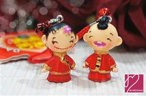 WHR2003 DaYu Small Couple Keychain DY9079A  - As low as RM 3.20 / Pair