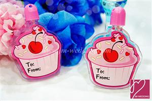 WMB2002 Pink Cupcake Bubble Bottle - As low as RM1.20 /Pc