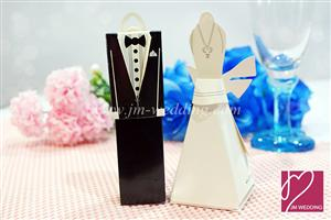 WPB2010 Bride and Groom Favor Boxes- As low as RM0.40 / pc