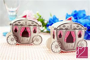 WPB2013 Enchanted Carriage Favor Boxes - As low as RM0.40/pc