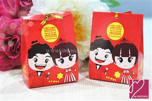 WPB2023 Sweet Double Happiness Couple - As low as RM 0.35 / Pc