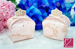 WPB2031 Crown Favor Box (Pink) - As Low As RM 0.55 / Pc