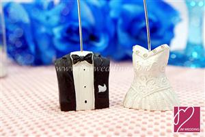 WPCH2001 Bride and Groom Placecard holders - As low As RM2.50 /piece