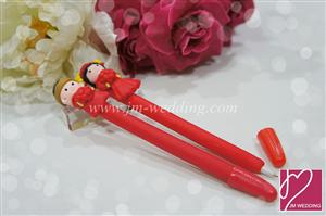 WPE2001 Oriental Wedding Pen Favors   - As Low As 1.90 / Pc