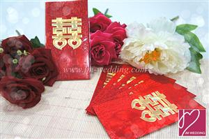 WRP1015 Double Happiness Red Packet /pack 聘金封