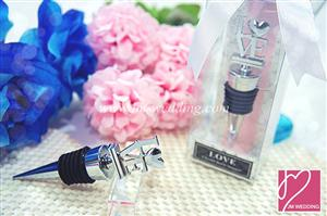 WWS2003 LOVE Chrome Bottle Stopper - As low as RM5.99 /Pc