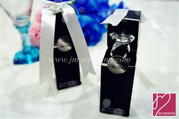WWS2007 Diamond Ring Bottle Stopper - As Low As RM7.40 /Pc